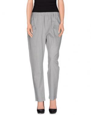 Повседневные брюки SO BE IT. Цвет: серый