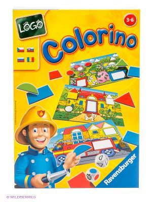 Настольная игра Лого Колорино Ravensburger. Цвет: желтый