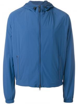 Спортивная куртка Loro Piana. Цвет: синий