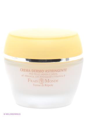 Вяжущий крем для лица Frais Monde. Цвет: белый, желтый