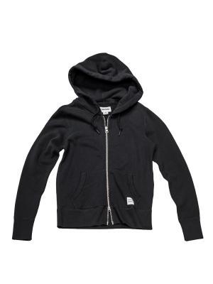 Толстовка Converse Sportswear Fz Hoodie. Цвет: черный