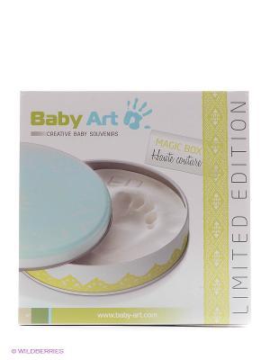 Коробочка с отпечатком Мэджик Бокс Baby Art. Цвет: голубой