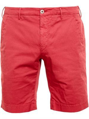 Классические шорты-чиносы Browns. Цвет: красный