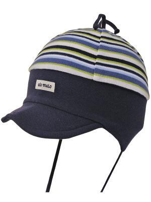 Шапка Elo-Melo. Цвет: антрацитовый, салатовый, серо-голубой