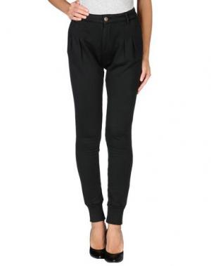 Повседневные брюки PRAIO. Цвет: черный