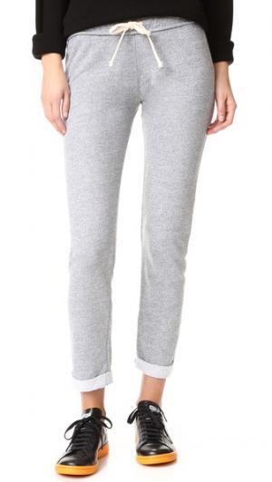 Узкие спортивные брюки MONROW. Цвет: гранит