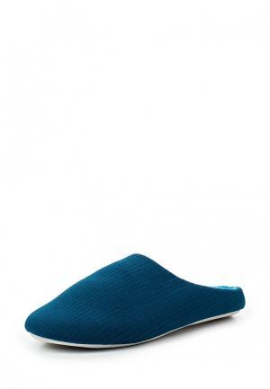 Тапочки Modis. Цвет: синий