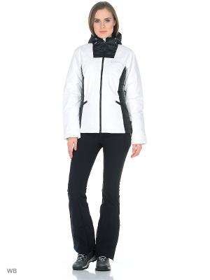 Куртка Columbia. Цвет: белый