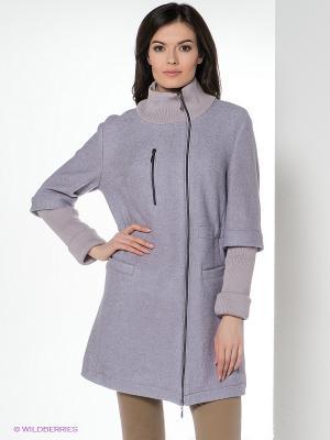 Пальто демисезонное DizzyWay. Цвет: сиреневый