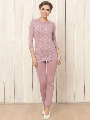 Пижама NicClub. Цвет: лиловый