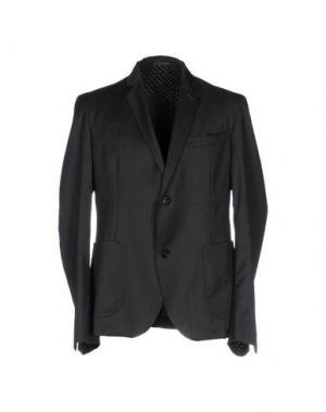 Пиджак U-NI-TY. Цвет: стальной серый