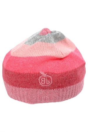 Шапка Bonnie Baby. Цвет: розовый