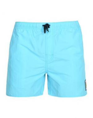Пляжные брюки и шорты RIPCURL. Цвет: небесно-голубой