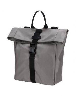 Рюкзаки и сумки на пояс BORSETTERIA Napoli 1985. Цвет: серый