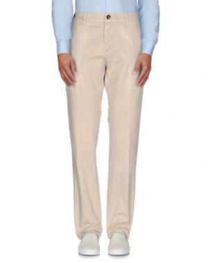 Повседневные брюки COCHRANE. Цвет: бежевый