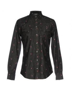 Джинсовая рубашка DOLCE & GABBANA. Цвет: черный