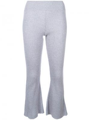 Трикотажные брюки Candiss Cashmere In Love. Цвет: серый