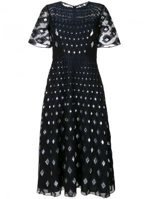 Платье Edelweiss Goat. Цвет: синий