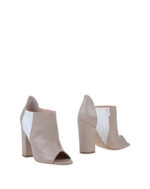 Ботинки JEREMY-HO. Цвет: голубиный серый