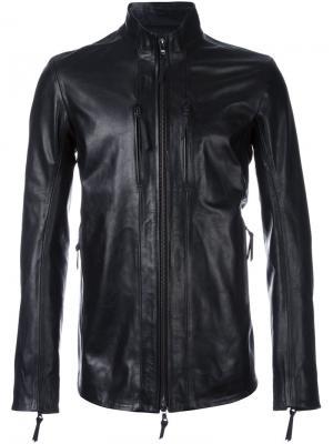 Куртка на молнии 11 By Boris Bidjan Saberi. Цвет: чёрный