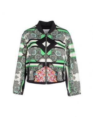 Куртка THE TEXTILE REBELS. Цвет: светло-зеленый