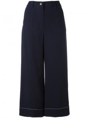 Укороченные брюки Sonia Rykiel. Цвет: синий