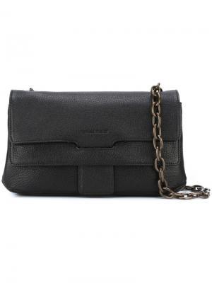 Маленькая сумка через плечо Tomas Maier. Цвет: чёрный