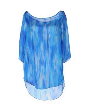 Блузка HANITA. Цвет: ярко-синий