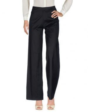 Повседневные брюки LAVINIATURRA. Цвет: черный