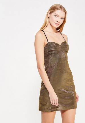 Платье Love Republic. Цвет: золотой