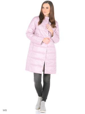 Пальто Snow Guard. Цвет: бледно-розовый