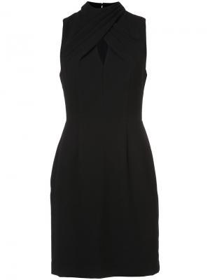 Платье с вырезной деталью Trina Turk. Цвет: чёрный