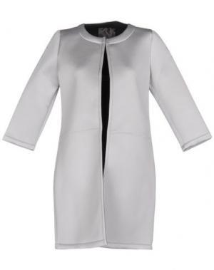 Легкое пальто ES'GIVIEN. Цвет: светло-серый