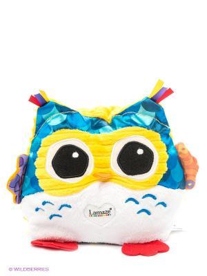 Мягкая игрушка с подсветкой Сова-Ночничок TOMY. Цвет: синий