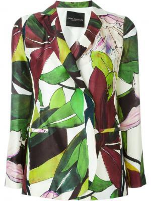 Пиджак Mayuri Erika Cavallini. Цвет: многоцветный