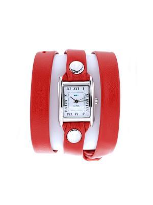 Часы La Mer Collections. Цвет: красный