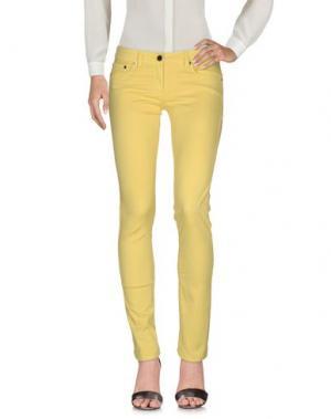 Повседневные брюки ELISABETTA FRANCHI JEANS. Цвет: желтый
