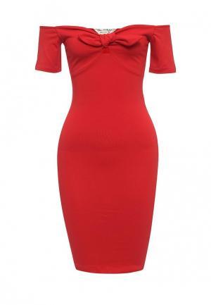 Платье Miss Selfridge. Цвет: красный
