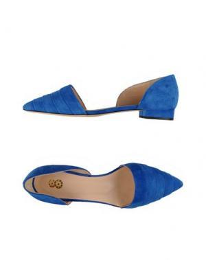 Балетки 8. Цвет: синий