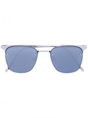 Солнцезащитные очки Fame S 02 Gentle Monster. Цвет: металлический