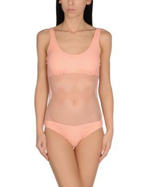 Слитный купальник FISICO-CRISTINA FERRARI. Цвет: светло-розовый