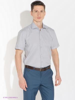 Рубашка Greg Horman. Цвет: светло-серый
