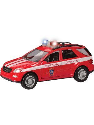 Машина GERMANY ALLROAD пожарная охрана AUTOTIME. Цвет: красный