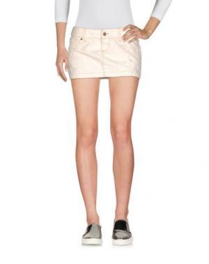 Джинсовая юбка 2W2M. Цвет: слоновая кость