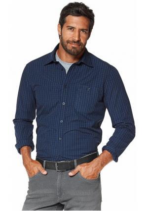 Рубашка GREY CONNECTION. Цвет: синий-черный