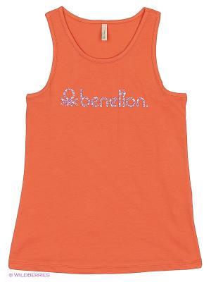 Топ United Colors of Benetton. Цвет: оранжевый