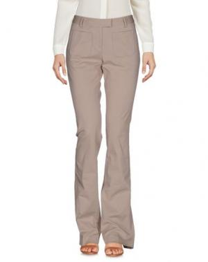 Повседневные брюки FABRIZIO LENZI. Цвет: бежевый