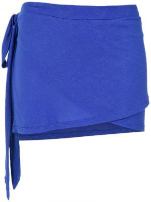 Накидка-конверт Amir Slama. Цвет: розовый и фиолетовый