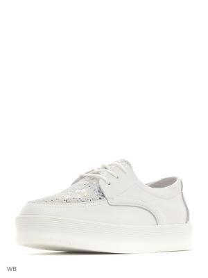 Ботинки Camidy. Цвет: белый