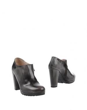 Ботинки SAX. Цвет: свинцово-серый